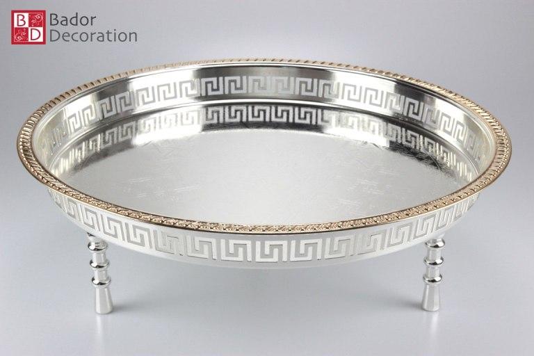 bador decoration elegante tablett ares gold m. Black Bedroom Furniture Sets. Home Design Ideas